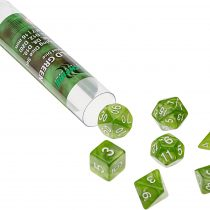 ADC Blackfire Entertainment 91655 16 mm Emerald Green Role Playing Dice Set (7-Piece)