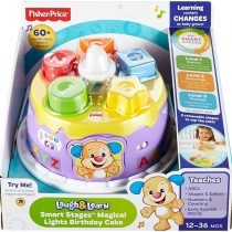 Fisher-Price dyy04–Smart Stages Puppy Birthday Cake