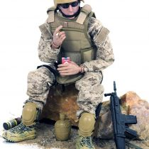"12"" Special Forces Military Army Combat soldier Action Figure Playset-Digital Desert Camouflage"