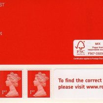 100 x 1st Class Stamps Royal Mail Post Office