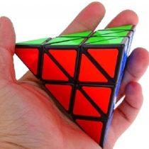 3x3x3 Magic Cube Pyraminx Cube Plastic toy, education game