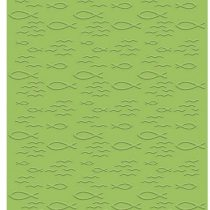 """'Bastelkoerble® """"Embossing Folder Fish Christian 10.6x 15cm for Embossing (Pieces) Card Making Wax"""