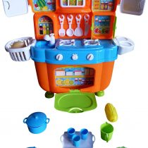 A151, jouets Poupée Cuisine avec Accessoires pour la petite poupée Mutti, avec Superbes effets sonores pour
