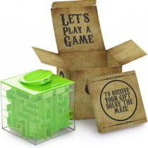 AGREATLIFE Money Maze Puzzle Box for Kids and Adults – Unique Way to Give Gifts Puzzle Box and Fun Casse Tete for Kids