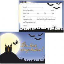 'Spooky Party Theme in Mind Link You Are Invited 1160 10 Einladungskarten + 2 Postkarten