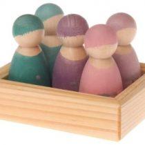 5 Wooden math Friends, Grimm's