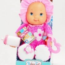Baby's First Happy Baby Interactive Doll with Teether