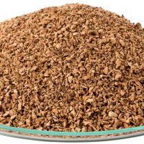 1 Litre Cork Grain Granulate Cork Granulated Powder Granules Powder scatter flock (1-2 mm fine grained)