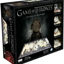 4D Cityscape HBO Game of Thrones Westeros Puzzle