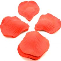 1000x Petalos Rose in Red Fabric Crafts Artesania Floral 2395A