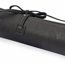 "'Pencil ""Spruce Black High-Quality Cowhide Meets Great Design. The different christmas gift case"