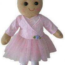 Ballerina Rag Doll – Handmade – Medium 40cms – Powell Craft