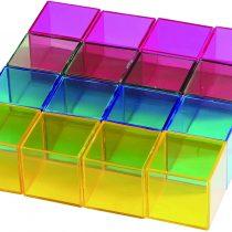 "EDUPLAY KC2002 Rainbow Block 16 Pcs."" Wp Creative, Multi Colour"