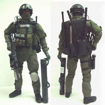 12 inch US SWAT ~ 1/6 Scale Action Figure ~ Team Sheriff Charles Chuck Morris