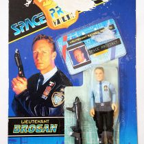 1994 Lieutenant Brogan (Shirt version) Space Precinct 4″ Vivid Imaginations Figure